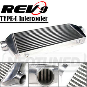 Rev9 Universal Type L Turbo Intercooler Fmic 28x9x2 5 2 5 In out 400hp