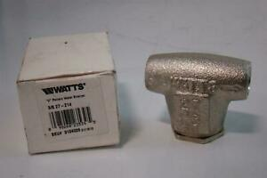 Watts Regulator V Pattern Water Strainer 3 8 27 z14