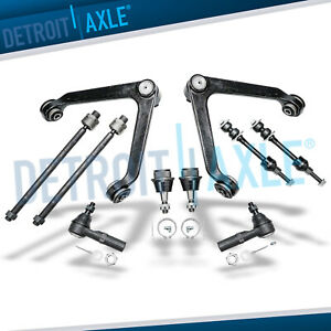 Dodge Ram 1500 Front Control Arm Ball Joint Tierod Kit 5 bolt 4wd Exc Megacab