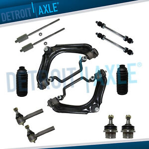 12pc Control Arm Tie Rod Front Suspension Kit 2002 2005 Ford Explorer 4 0l