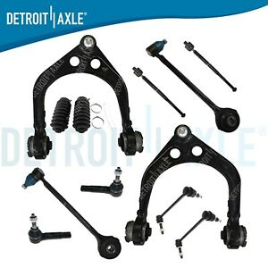 12 Pc 2005 10 Dodge Charger Upper Lower Control Arm Ball Joint Sway Bar Link Rwd