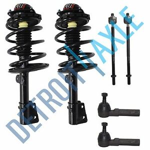 Caravan Voyager Town Country 6pc Complete Ready Front Struts Suspension Kit