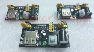 3 X Mb102 Breadboard Power Supply Module3 3v 5v For Arduino Ship From California