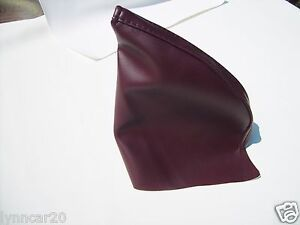 86 5 To 92 Synthetic Leather Supra Parking Hand Brake Boot Burgundy Maroon