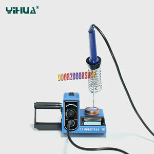 220v Eu Plug 60w Adjustable Temp Soldering Welding Iron For Soldering Station