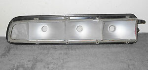 1970 Cougar Hardtop Convertible Xr7 Eliminator Orig Lh Rear Tail Light Housing