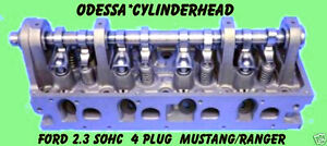 Ford 2 3 Ranger Mustang 4 Plug Sohc Cylinder Head Large Spring 85 88 No Core