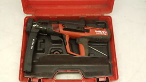 Hilti Dx 76 ptr Semi automatic Powder Actuated Tool Gun W Case