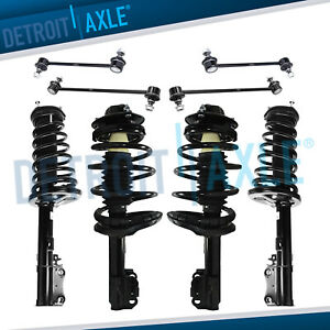 8pc Front Rear Strut Kit For 1997 1998 1999 2000 2001 Toyota Camry Solara 2 2l
