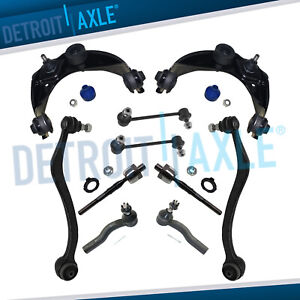 New 10pc Front Control Arm Set Suspension Kit For 2003 2007 Mazda 6
