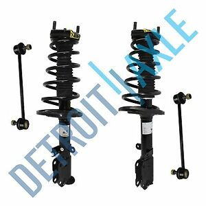 Complete Rear Strut W Spring Assembly Sway Bar Links For Toyota Camry Avalon