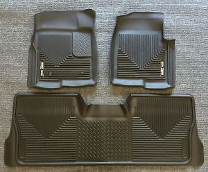 2014 To 2017 Jeep Wrangler Unlimited Husky X Act Contour Floor Liners Front Rear