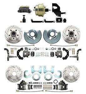 Mopar A B E Body Performance Power Front Rear Disc Brake Conversion Package