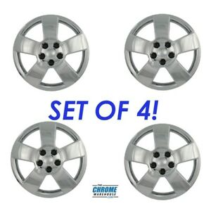 Fits 06 13 Chevrolet Hhr 16 Wheels 4 Pc 5 Spoke Chrome Hubcaps