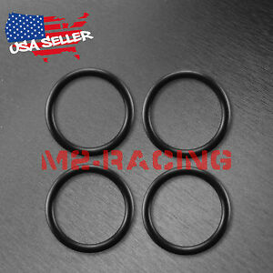 4pcs Bumper Fender Quick Release Fasteners Replacement Rubber Bands O Rings