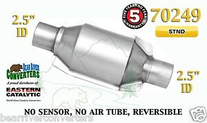 70249 Eastern Universal Catalytic Converter Standard 2 5 2 1 2 Pipe 8 Body