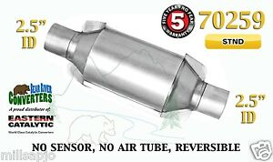 70259 Eastern Universal Catalytic Converter Standard 2 5 2 1 2 Pipe 10 Body