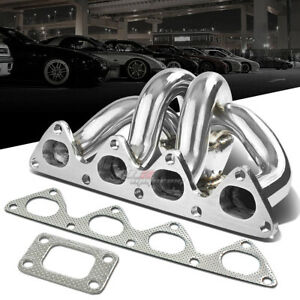 For Honda B16 B18b1 T25 T28 Performance Ram Horn Turbo Charger Manifold Exhaust