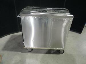 Hatch Heated Plate Lowerator Dispenser Warmer Mobile Cart Pbd 2 m