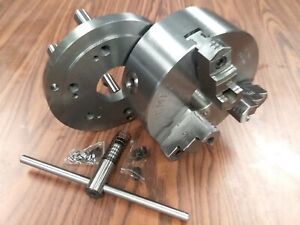 8 3 jaw Self centering Lathe Chuck D1 6 Mounting Adapter 0803d6 new