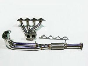 Obx Exhaust Headers Fit For Honda Prelude 92 96 Si 2 3l