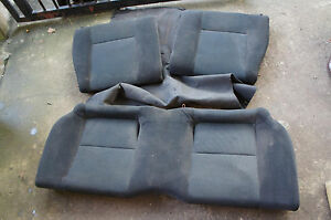 Jdm Honda Civic Ek9 Ctr Type R Rear Black Oem Seats B16b 97 00 Ek Hatch So3 Ek4