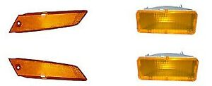 1979 1981 1983 1985 Mustang Side Marker Turn Signal Light Kit 1980 1982 1984