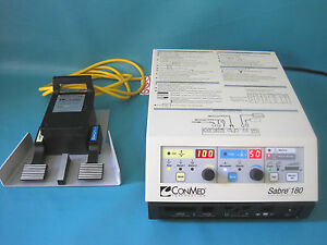 Conmed Sabre 180 Electrosurgical Unit 60 5800 001
