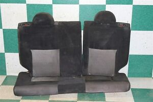 02 05 Civic Si Black Cloth Back Rear Driver Passenger Seats Headrests Factory Oe