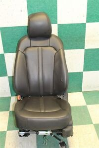 2014 Mkx Black Leather Left Front Driver Bucket Power Seat Track Memory Factory