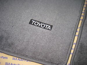 Toyota Pickup Truck 4runner Factory Floor Mats Dark Gray New Oem 1989 1995