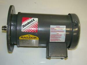 Baldor Electric Motor 1 2hp 230 460v 1725rpm Ph3 Mvm346id