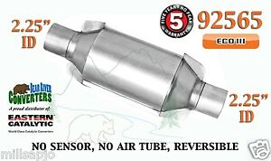 92565 Eastern Universal Catalytic Converter Eco Iii 2 25 2 1 4 Pipe 10 Body