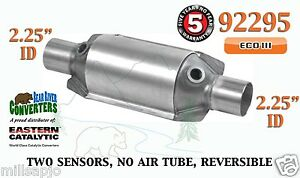92295 Eastern Universal Catalytic Converter Eco Iii 2 25 2 1 4 Pipe 10 Body