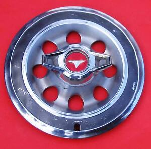 1965 Buick Special Wheel Cover With A Two Bladed Spinner