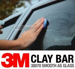 Auto Detailing Clay Bar 3m Cleaning Magic Clean Clay Sludge Mud Remover 2ea Set
