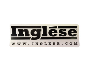 Inglese Racing Contingency Decal Sticker
