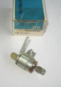 Nos 1965 Chevrolet Corvair 3 Speed Manual Trans Back Up Lamp Switch 3869593