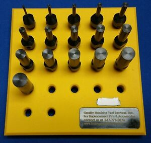 Star Cnc 16mm Standard Length Knock Out Set