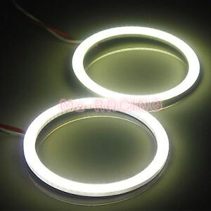 2x 60mm 2 36 Led Halo Rings Angel Eyes Hid Super White Headlight Fog Light