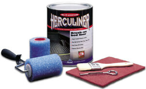 Herculiner Black Brush On Truck Bed Liner Kit Gal Pekhcl1b8