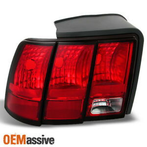 Fit 1999 2004 Ford Mustang Rear Tail Lights Driver Left Side Replacement