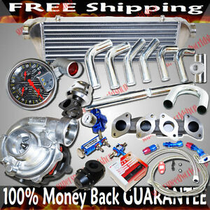 Turbo Kits T3 Turbo For Vw 90 92 Golf jetta passat 1 8l 2 0l I4 16v Dohc Only
