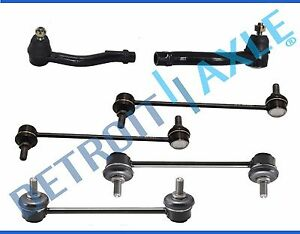 4 Front Rear Sway Bar Links Outer Tie Rods For 2007 2010 Kia Optima Rondo