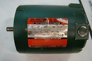 Reliance Electric S 2000 Duty Master A c Motor 1 2 Hp 1725 Rpm P56h1338z ea