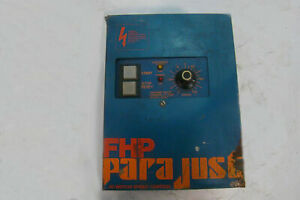 Fhp Parametrics Ac Motor Speed Control 6007 Single Phase To 3phase Converter 600
