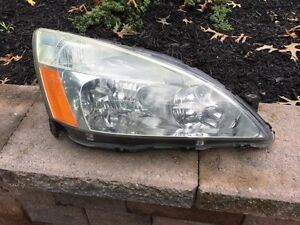 Used 2003 2004 2005 2006 2007 Honda Accord Passenger Right Rh Headlight headlamp