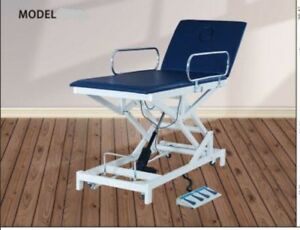 Hi Lo Electric Physical Therapy Table Blue New With 1 Year Warranty