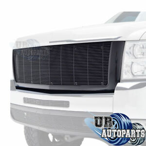 07 10 Chevy Silverado 2500hd 3500hd Black Replacement Packaged Grille Grill