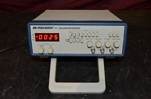 Bk Precision 4011 5mhz Function Generator Counter With Digital Display